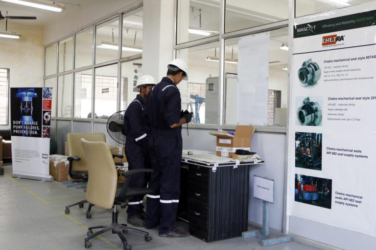 Doppel-GLRD zum Abdichten von Latex-Gemischen - CHETRA Gleitringdichtungen für die Papierindustrie